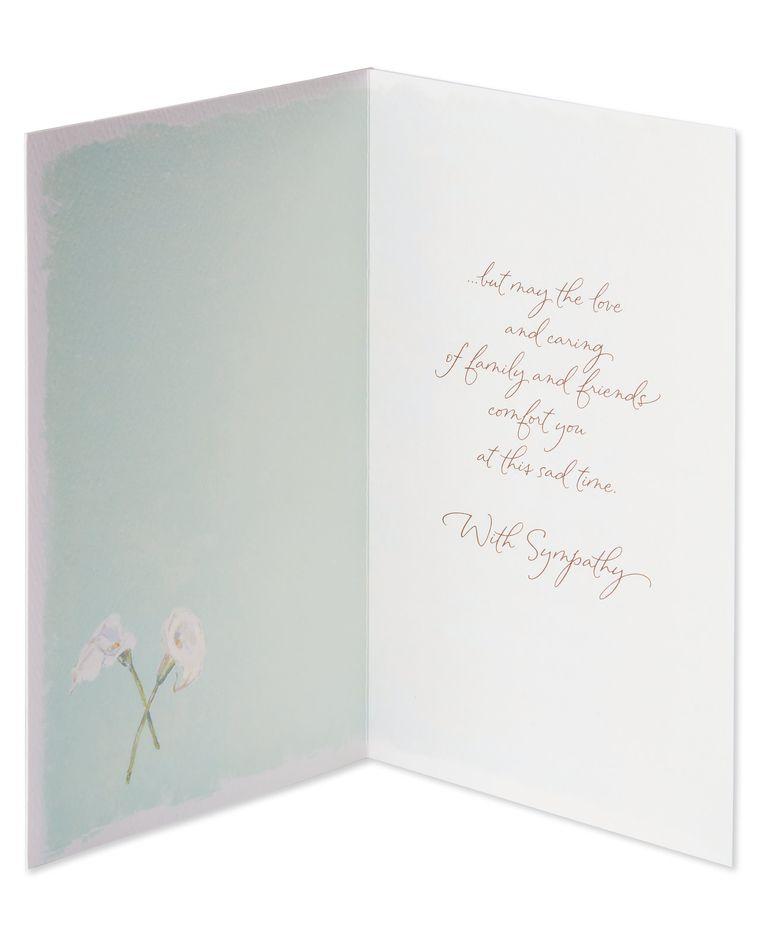 No Words Sympathy Card