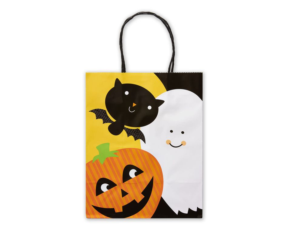 Small Halloween Gift Bag, Spooky Friends
