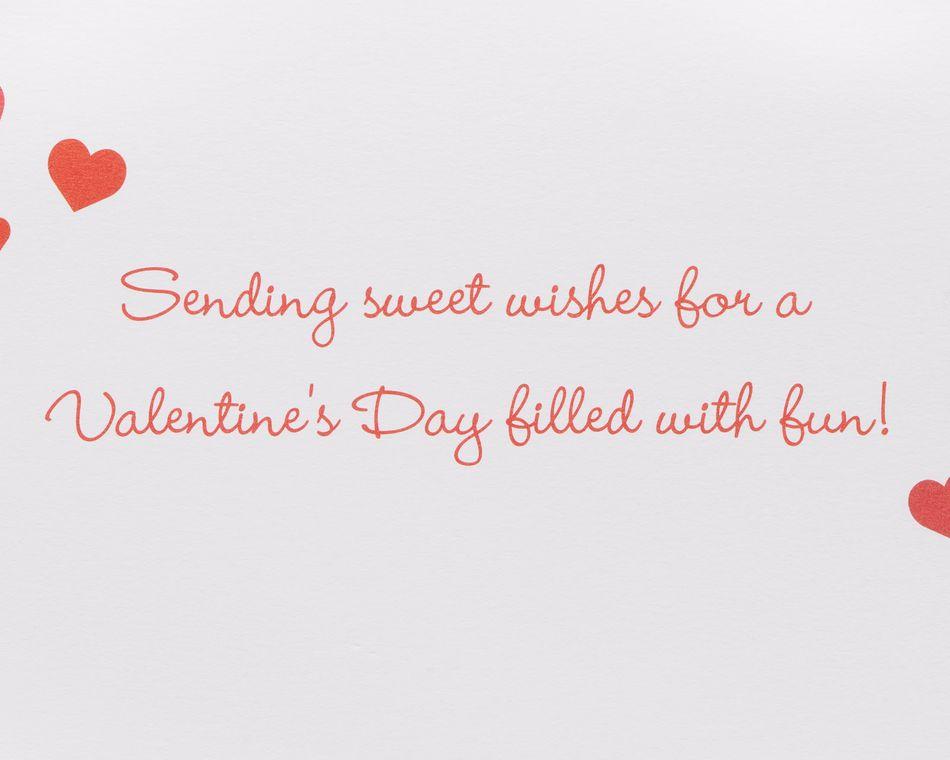 Animals Valentine's Day Greeting Card