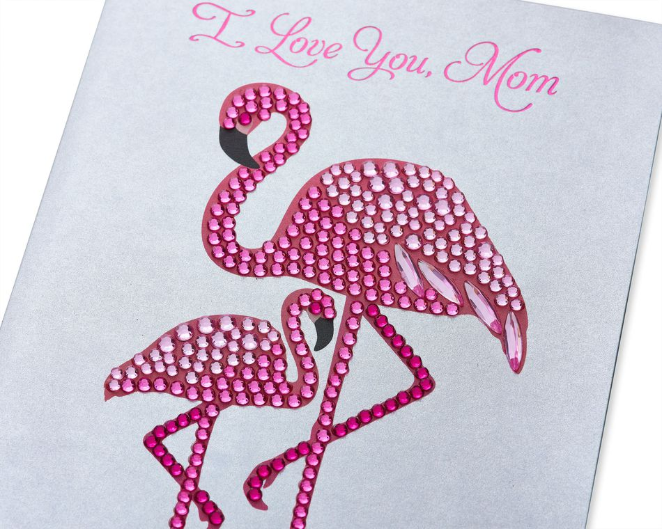 Flamingos Mother's Day Card