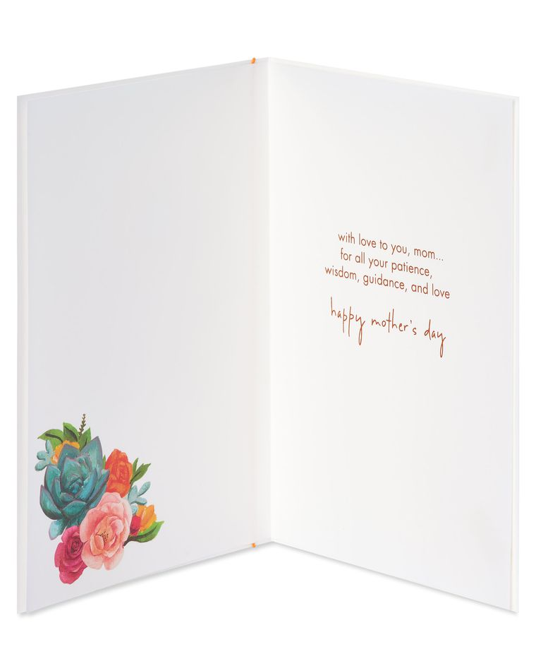 Succulent Bouquet Mother's Day Card