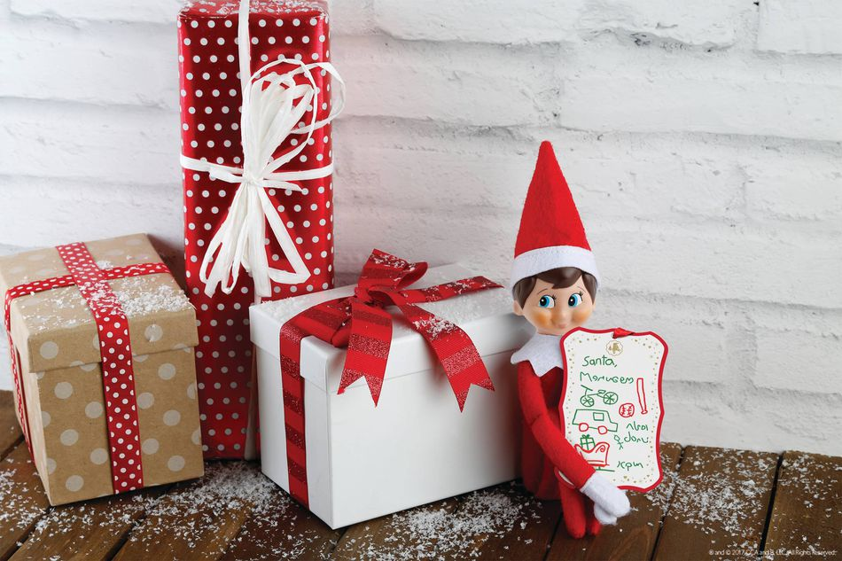 The Elf on the Shelf® Scout Elves at Play, Shrink 'n' Send