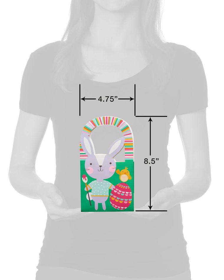 Small Easter Bunny Painting Egg Gift Bag