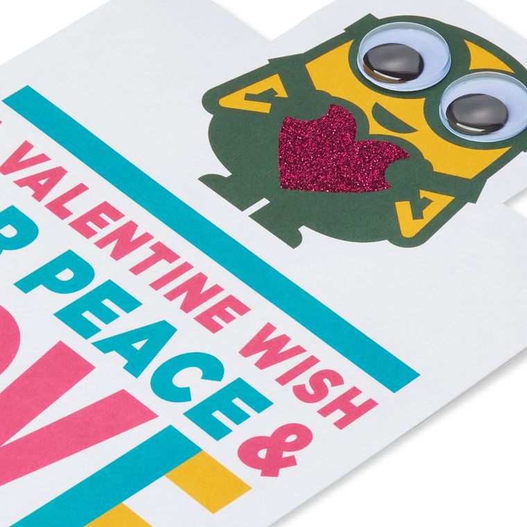 Despicable Me Bananas Valentine's Day Card