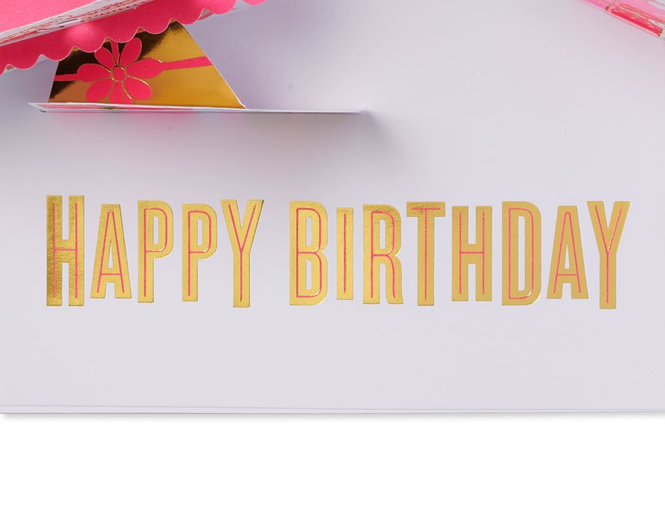 Big Deal Pop-Up Birthday Card with Music