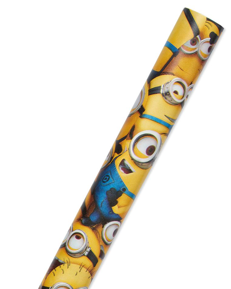 Despicable Me Wrapping Paper, 20 sq. ft.