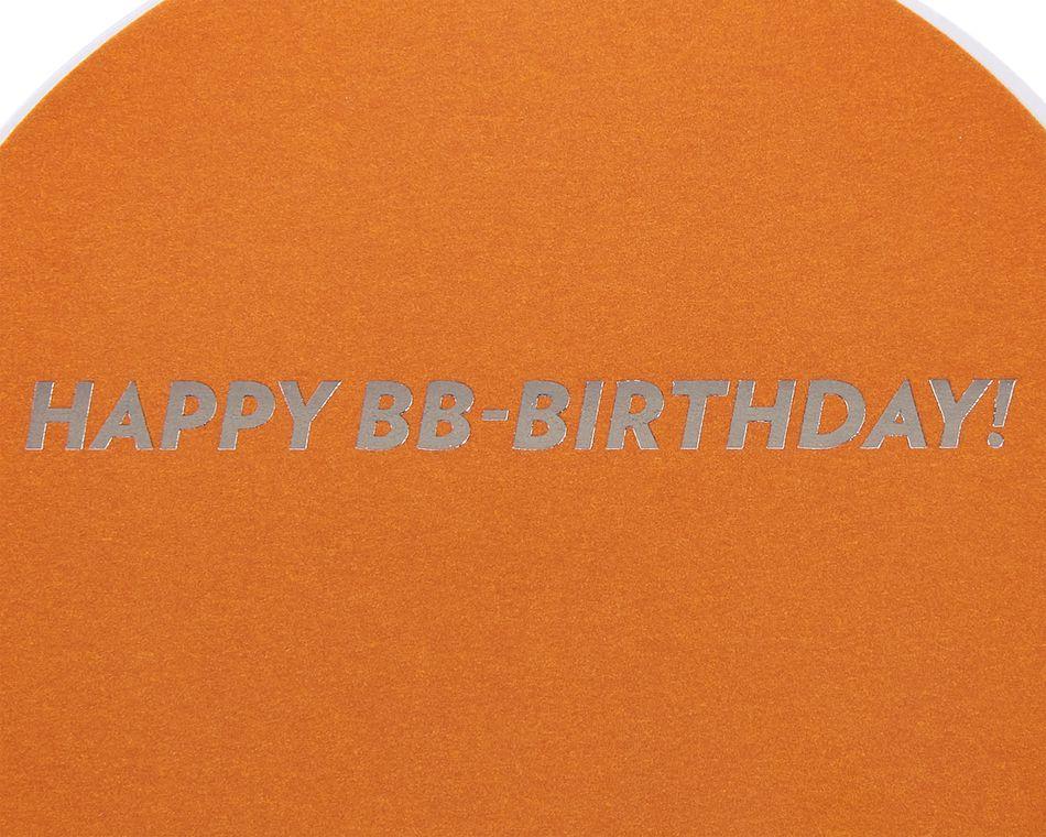 BB8 Birthday Greeting Card