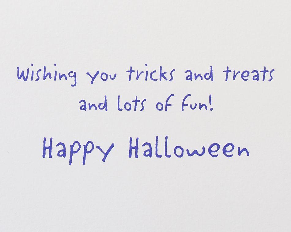 Tricks & Treats Halloween Greeting Card