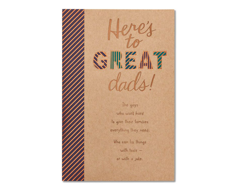 Great Dads Father's Day Card