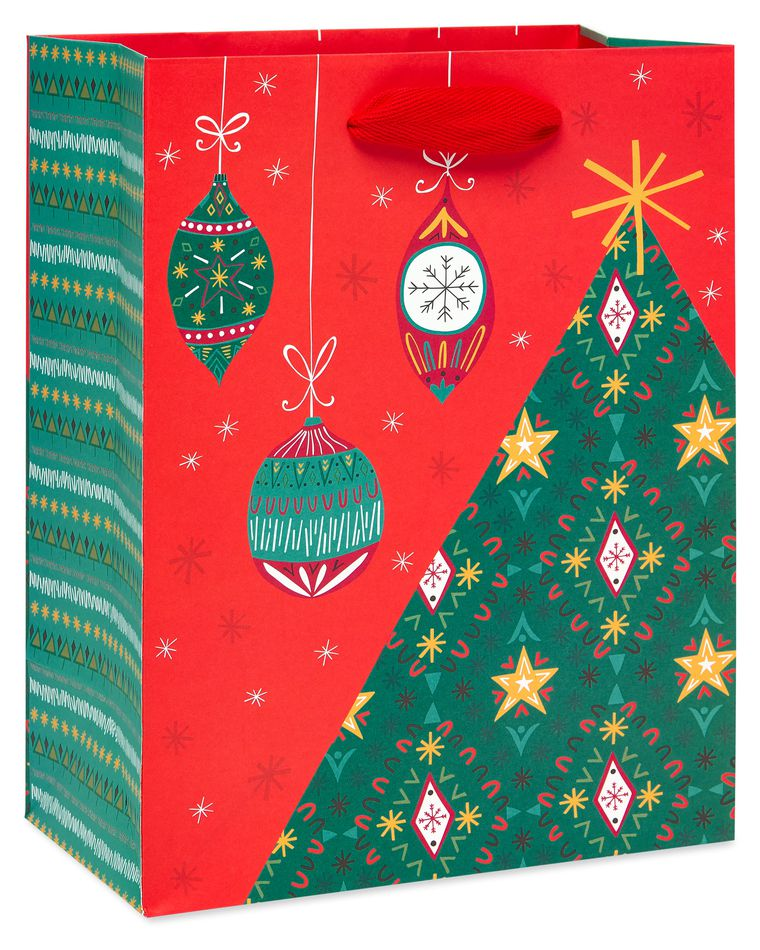 Holiday Gift Bag Set, 3-Count