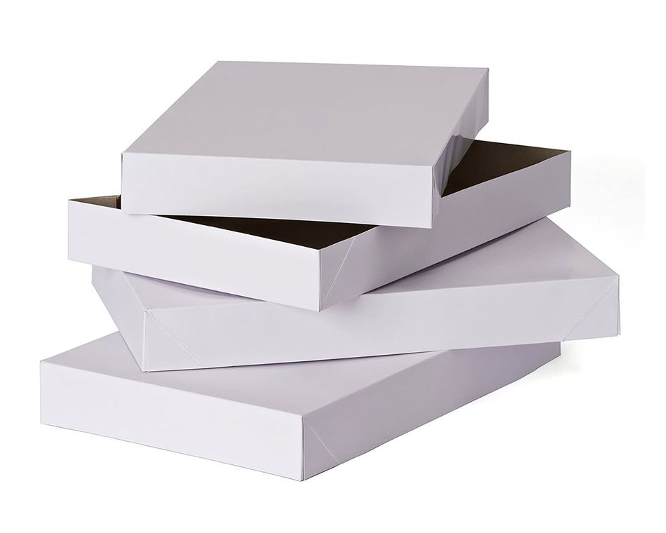 medium shirt gift boxes with lids 2 ct