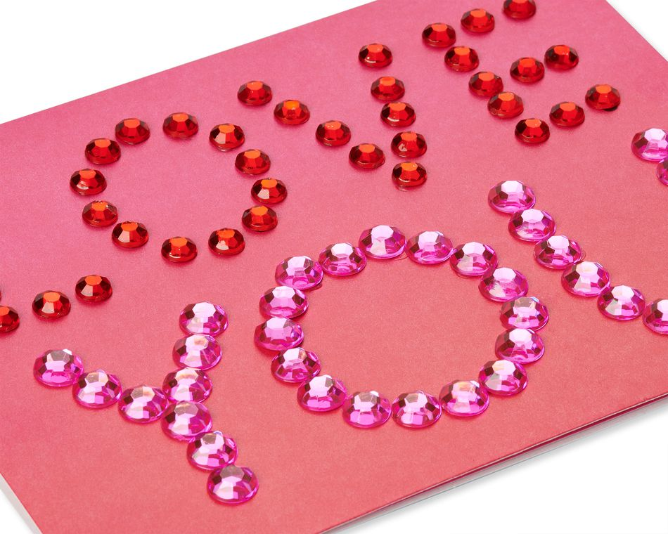 Love Ombre Valentine's Day Greeting Card