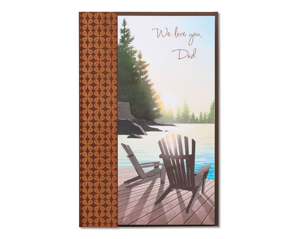 Scenic Father's Day Card from Both