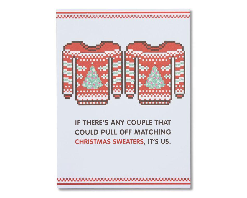 Christmas Sweaters Christmas Card