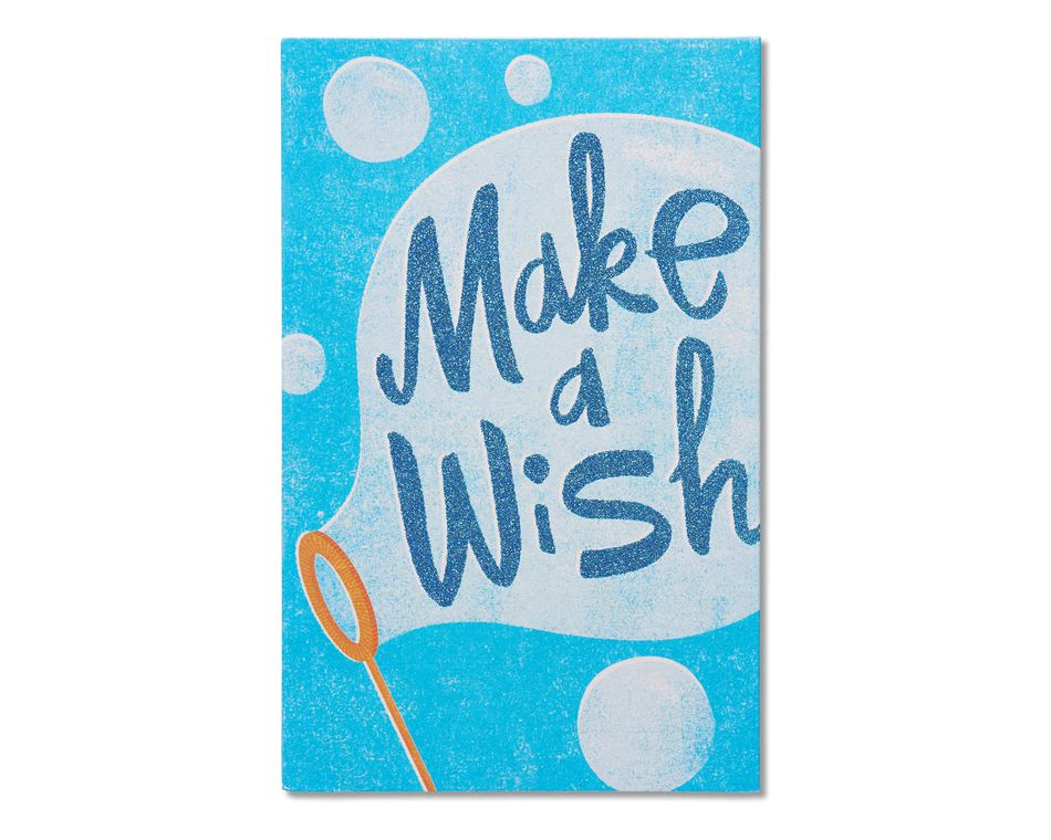 make a wish birthday card