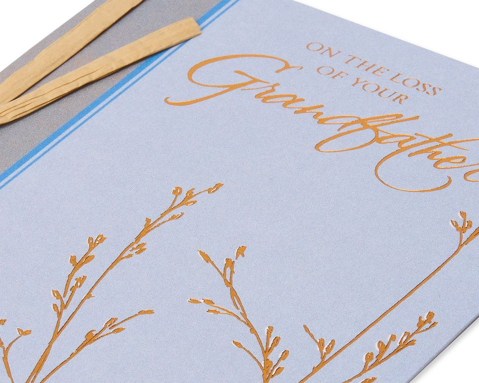 Loss of Grandfather Sympathy Card