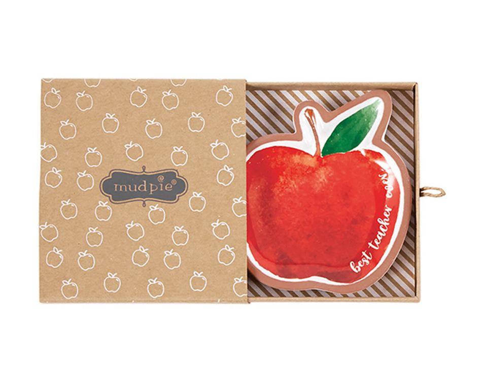Mud Pie Apple Teacher Trinket Tray