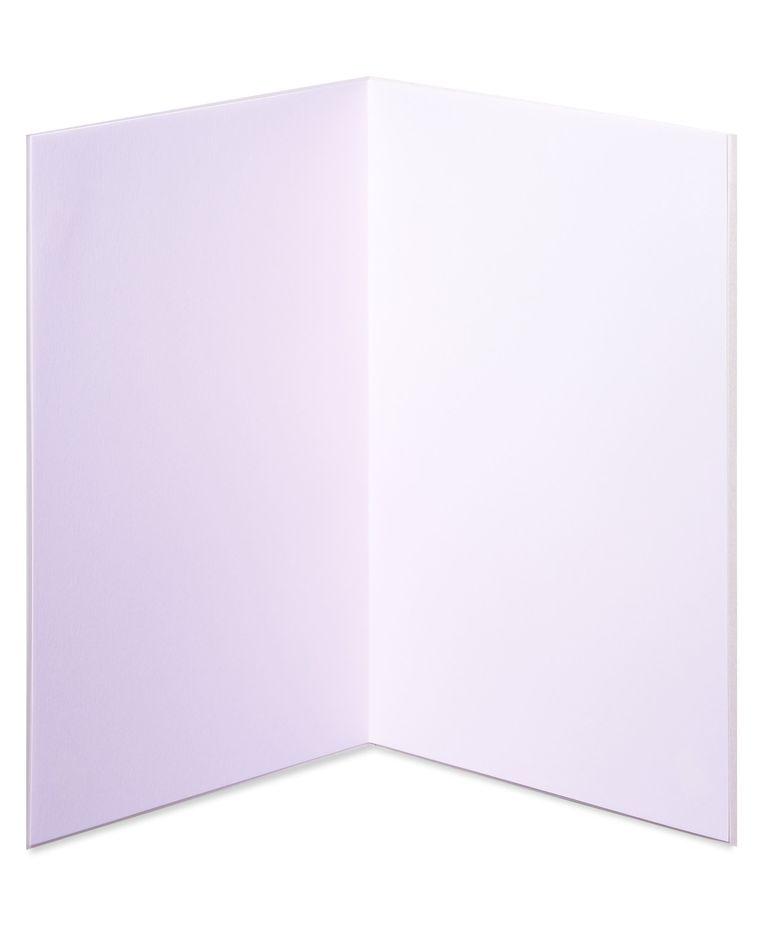 Watercolor Lips Blank Greeting Card