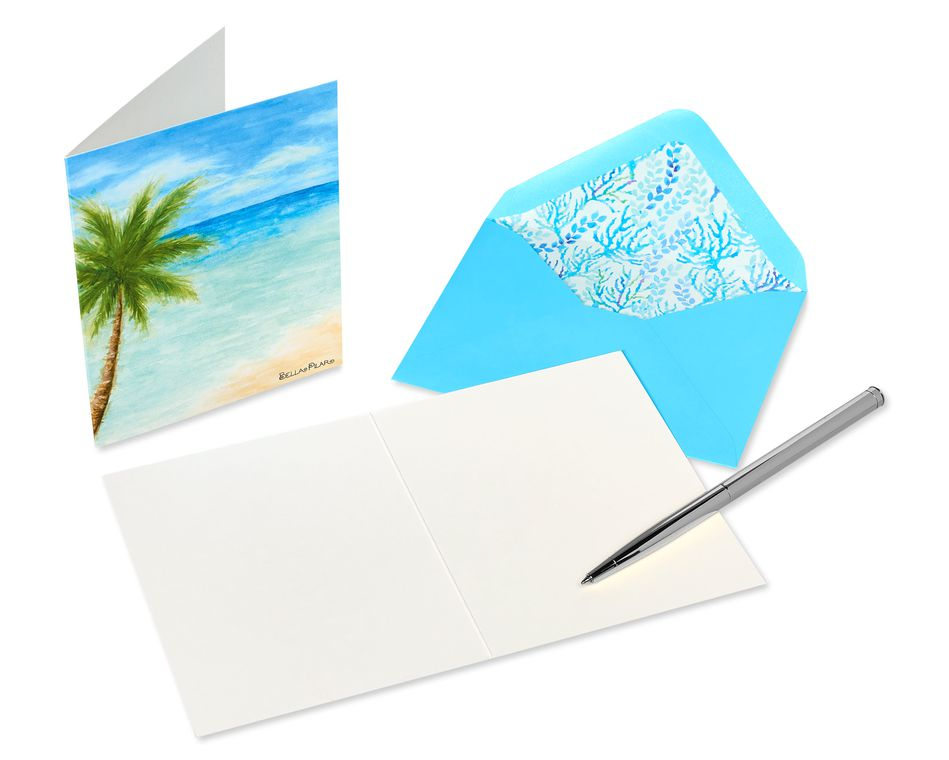 Into the Blue Boxed Blank Note Cards with Envelopes, 20-Count