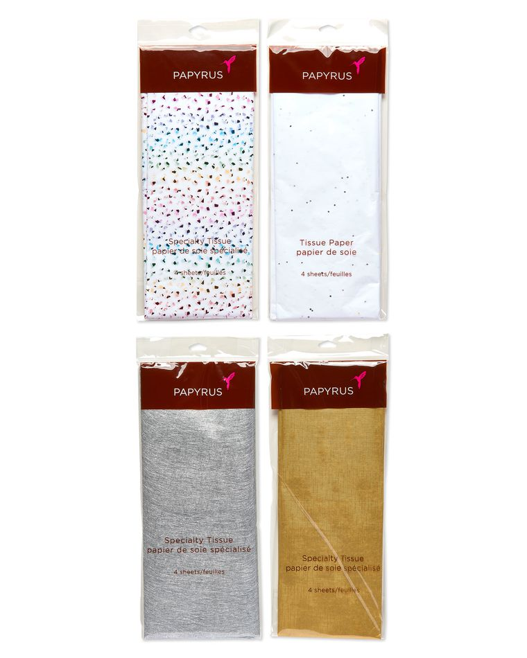 Tissue Paper Bundle, Specialty, 16 Sheets