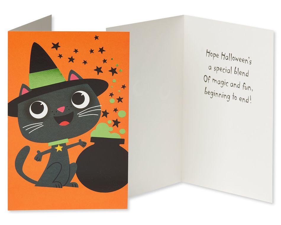 Halloween Greeting Card Bundle for Kids, 5-Pack