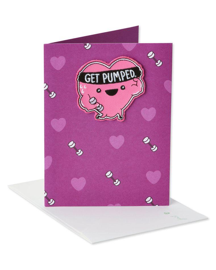 Get Pumped Valentine's Day Card