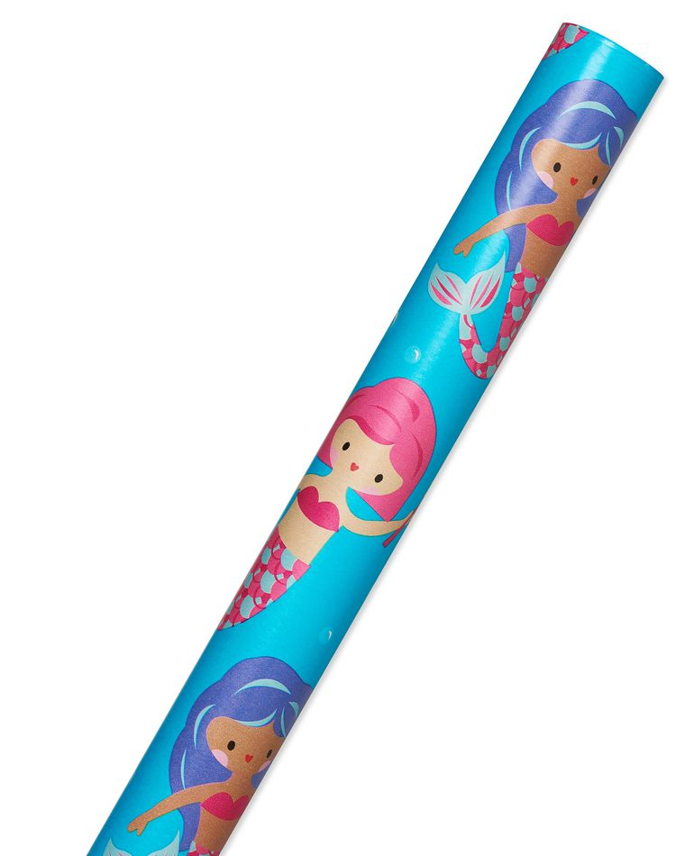 Mermaids Wrapping Paper, 20 Total Sq. Ft.