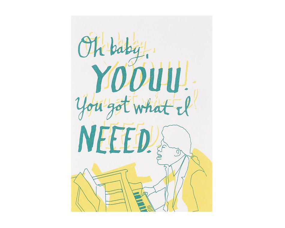 Oh Baby Romantic Card