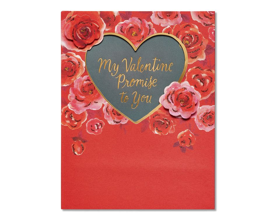 promise valentine's day card