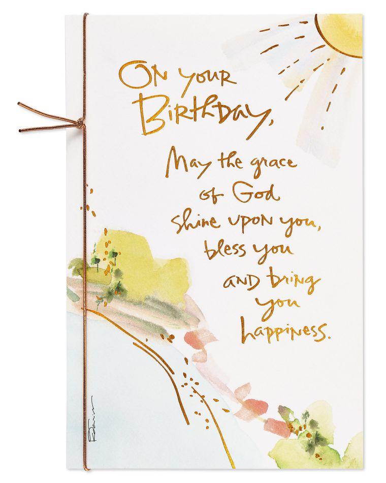 Kathy Davis Religious Sunshine Birthday Card