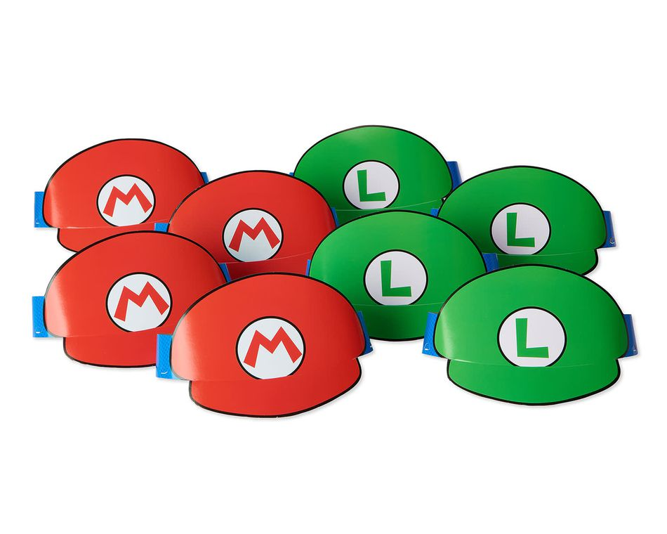 Super Mario Party Tiaras, 8 Count