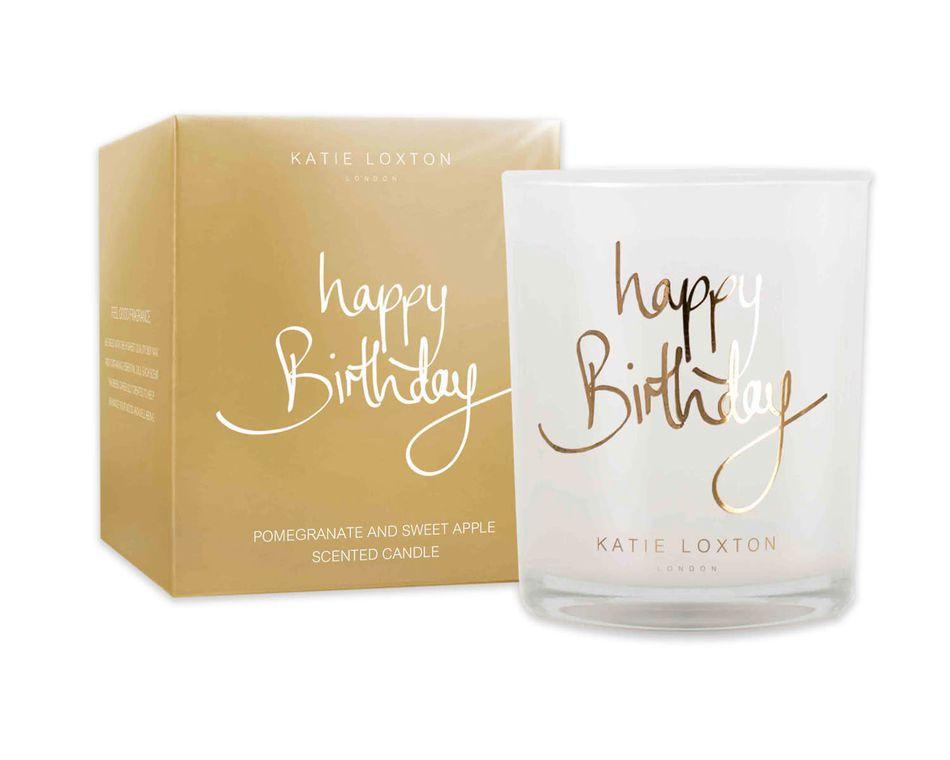 Katie Loxton Happy Birthday Candle