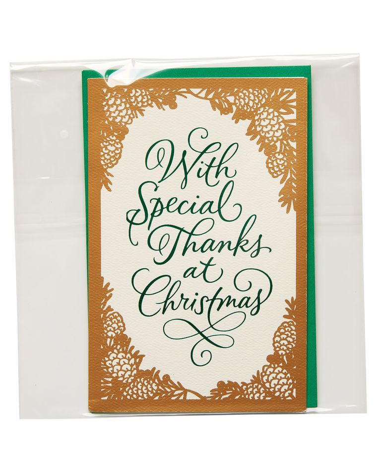 Special Thanks Christmas Card