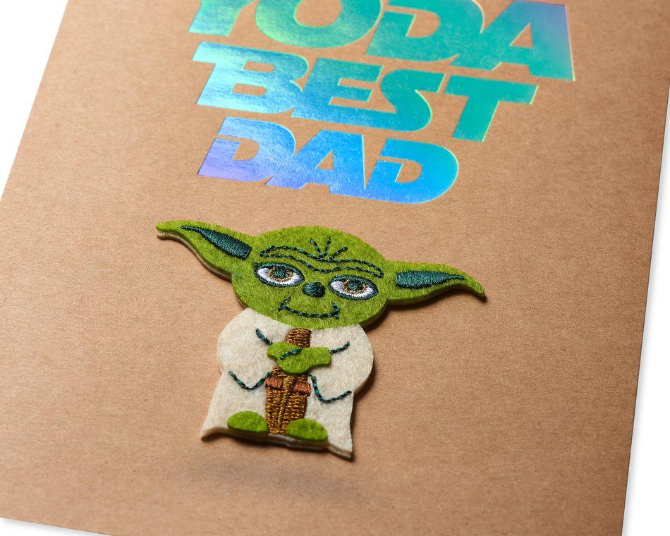 Yoda Father's Day Greeting Card