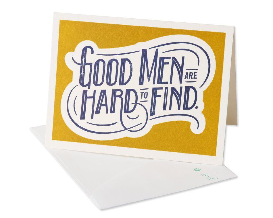 Good Men Romantic Card
