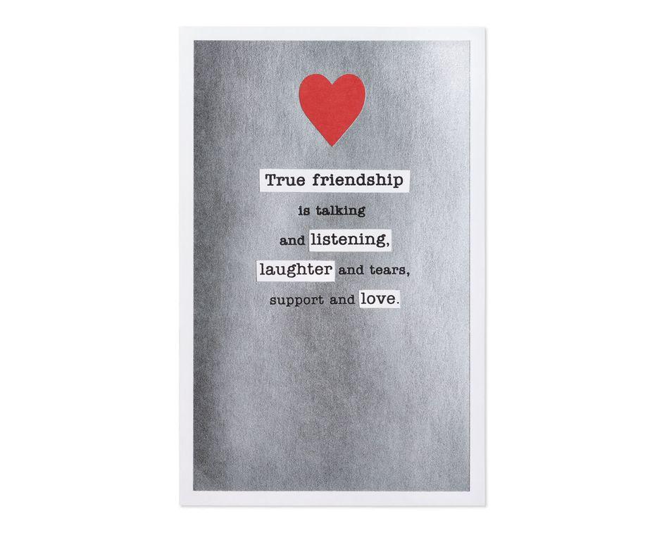 True Friendship Valentine's Day Card