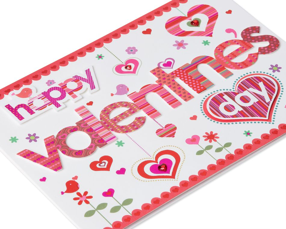Hearts Valentine's Day Greeting Card