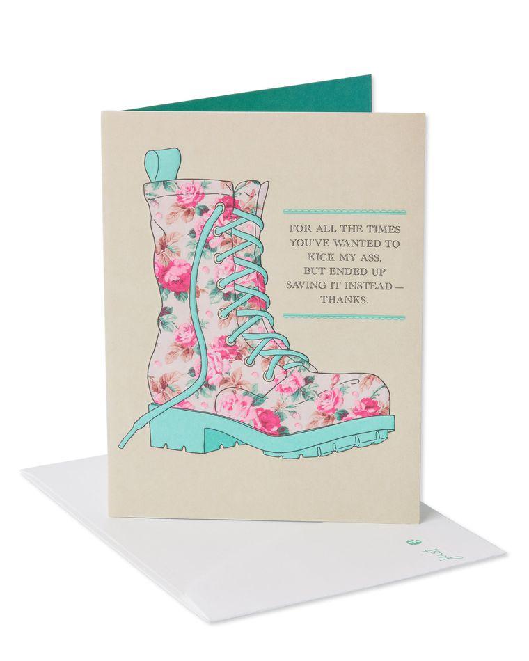 Glad You're My Mom Birthday Card
