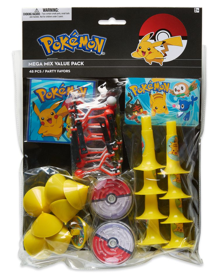 Pokémon Party Favor Pack