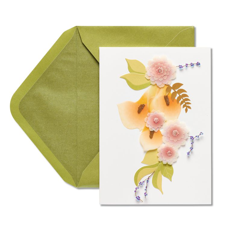 Calla Lily Birthday Greeting Card