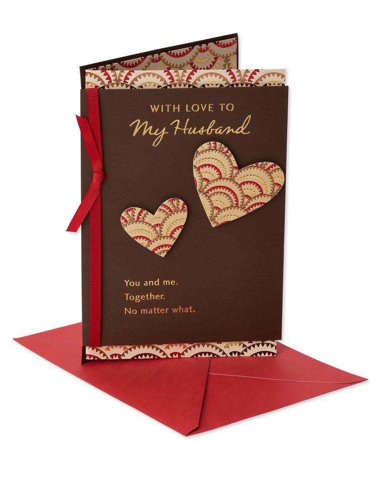Together Valentine's Day Card for Husband
