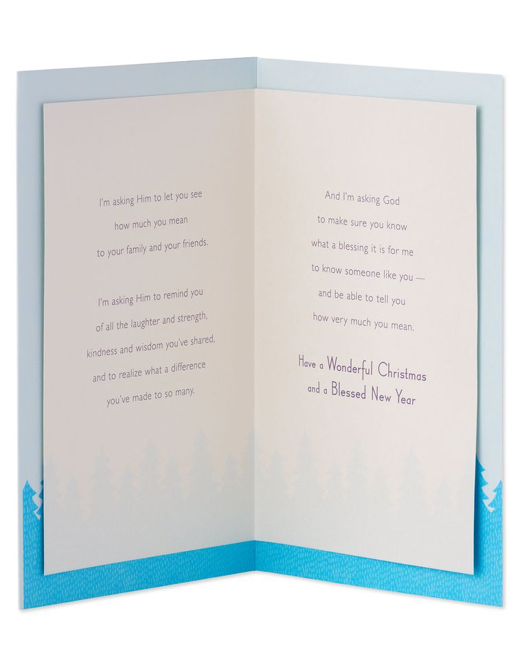 Religious Christmas and New Year Card