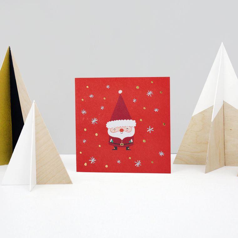 Santa Christmas Card
