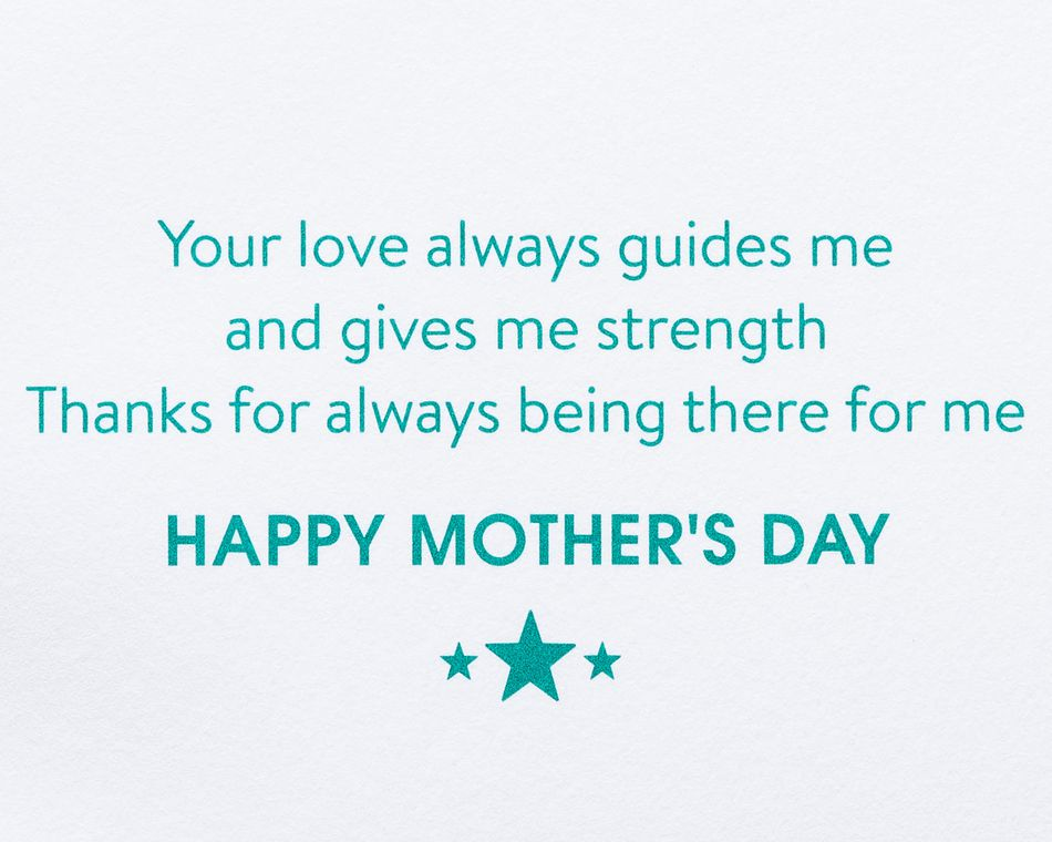 Map Mother's Day Card