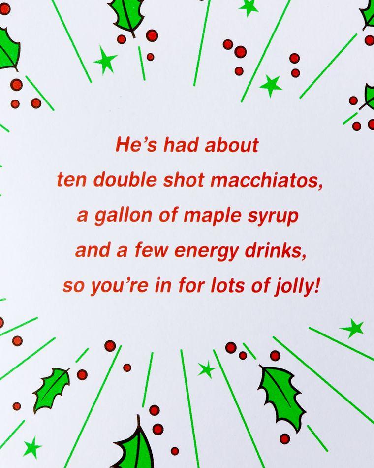 Funny Elf Christmas Greeting Card