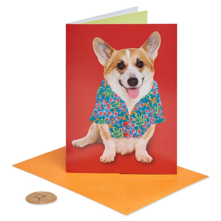 Corgi Father's Day Greeting Card