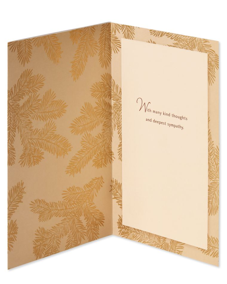 Kind Thoughts Sympathy Card