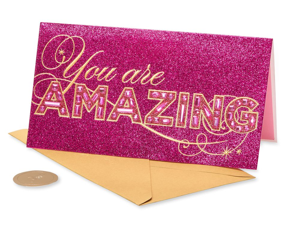 You Are Amazing Friendship Greeting Card
