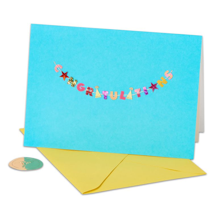 Festive Congratulations Greeting Card