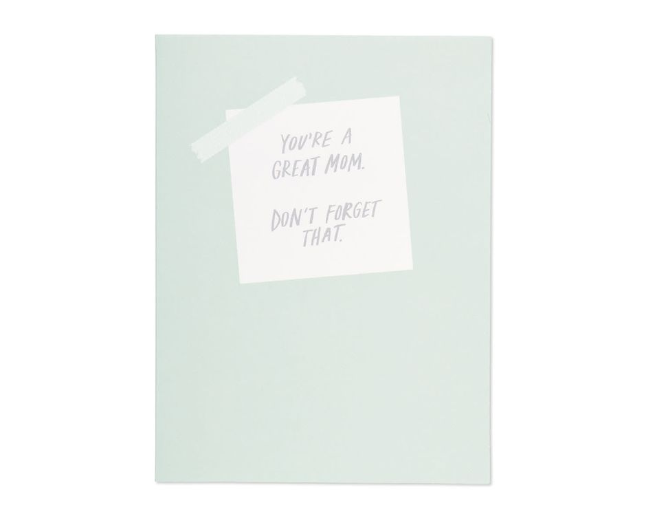 great mom mother's day card